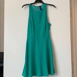 Francesca's Teal Dress
